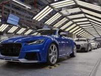 Produkcja Audi TT RS