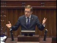 Poseł Winnicki w sejmie: STOP TTIP i CETA!