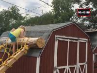 Ojciec zbudował swojej  5-letniej córce ścieżkę