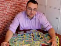 Kupiłem 100 zdrapek w 100 Punktach Lotto.