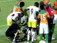 Piłkarz z Wybrzeża Kości Słoniowej uratował życie rywalowi podczas meczu