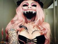 Nietypowy makijaż na Halloween