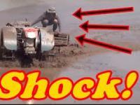 Dziwny mega maszyny Azji: Traktor, Kombajn i inne