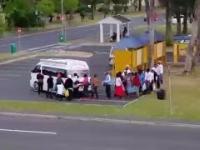 Przestronny minibus