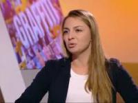 Kinga Gajewska sama masakruje się w TV