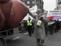 Ogólnopolski protest przeciw CETA ze skandalem w tle
