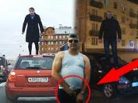 Kobieta na Dachu, Psy odgryzły zderzak, Kierowca z kutasem, 21 próba wyjazdu z parkingu