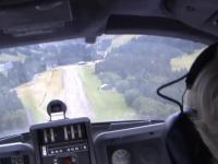 Piloci samolotu podczas lądowania zapomnieli o wypuszczeniu podwozia