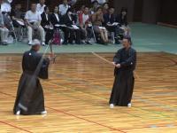 Prezentacja technik walki tradycyjną japońską bronią ninja - Kusarigama