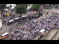 Real Legia prowokacja policji i zamieszki na ulicach Madrytu