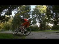 Ekstremalne zawody rowerowe w centrum miasta sanatoriów