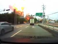 Wybuch w Koreańskiej Fabryce Chemicznej
