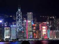 Symfonia świateł w Hong Kongu