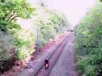 Heroiczna postawa pracownika kolei