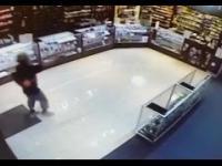 Nieudany napad z bronią na sklep w Teksasie