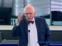 Janusz Korwin-Mikke: Czy państwo nie widzicie, że jesteście śmieszni?
