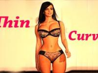 Thin Curves 1 - WOW! Lingerie & models!