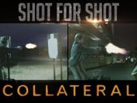 Były żołnierz US Delta Force analizuję scenę strzelaniny z filmu Zakładnik(2004)