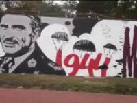 750 metrów chwały - Największy mural tego typu na świecie.