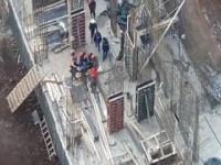 Seria wypadków na budowie
