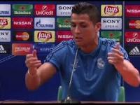 Zdenerwowany Ronaldo o meczu z Legią
