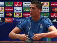 Zdenerwowany Ronaldo po meczu Legia - Real (3:3)