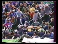 Policja kontra Kibice w latach 90-tych