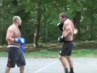 Fedor and Aleksander Emelianenko Sparring