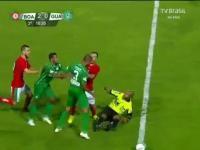 Atak na sędziego za czerwoną kartkę w brazylijskiej lidze