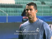 Co Cristiano Ronaldo mówił podczas meczu z Legią ?