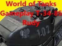 World of Tanks Gameplay T-34-85 Rudy
