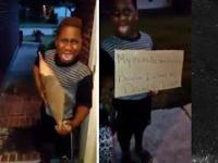 Matka wyrzuca swojego 8-letniego syna z domu, bo w szkole głosował na Trumpa