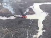 Siły specjalne Nigerii niszczą barki przewożące skradziony olej napędowy.