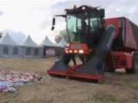 Idealna maszyna do czyszczenia obszarów po festiwalach