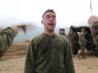 US Marines ćwiczą z gazem pieprzowym