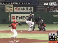 Niesamowicie mocne uderzenie w baseballu