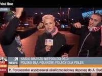 Narodowcy pomylili stację Polsat News z TVN24
