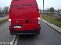 Burak zmusza autobus..