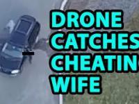 Facet za pomocą drona łapie zonę na zdradzie