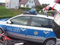 Policjant nie zauważył motocyklisty i spowodował kolizję