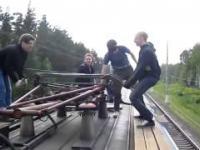 Jak są napędzane rosyjskie pociągi?