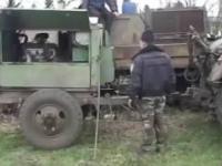 Odpalanie Rosyjskiego czołgu po 65 latach stania