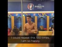 Wzruszająca przemowa Cristiano Ronaldo po wygraniu EURO 2016