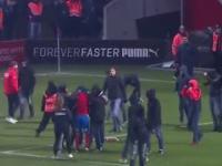 Skandal w Szwecji. Kibice zaatakowali zawodnika