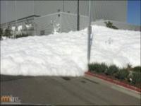 Nietypowy śnieg w Kalifornii