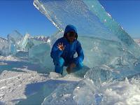 Odgłosy lodu z jeziora Bajkał