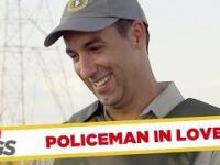 Elektryczny pastuch i kontrola policyjna