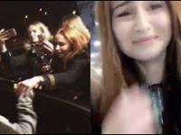 Littlemooonster96 o tym, jak dotknęła Justina Biebera [Snapchat]