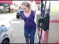 Jak zatankować gaz nie mając rąk