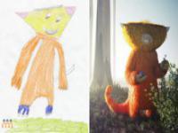 Potwory na rysunkach dzieci